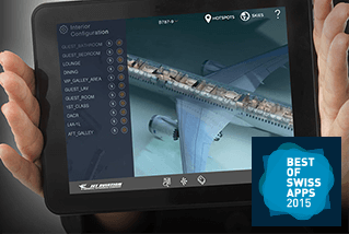 Jet Vision – App for private jet customers