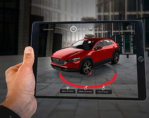 Présentation virtuelle de voiture de salon